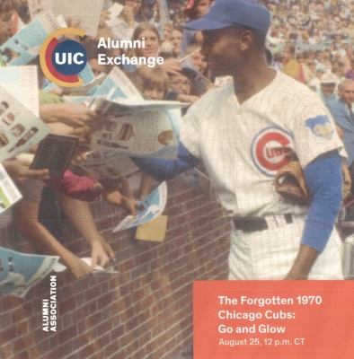 Hear William S. Bike talk about the 1970 Chicago Cubs.