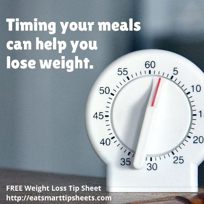 """Eat Smart Expert Ruth Houston says """"Time your meals if you want to lose weight."""