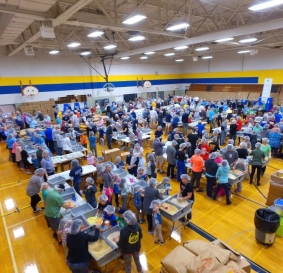 1500 Volunteers to Make 500,000 Meals for  Hungry Children  @ The PARC in Plymouth, MI  SAT. May 12