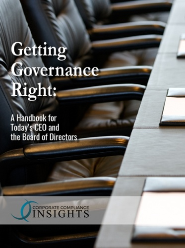 Getting Governance Right: a Handbook for Today