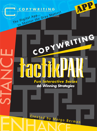 Copywriting tactikPAK™ app