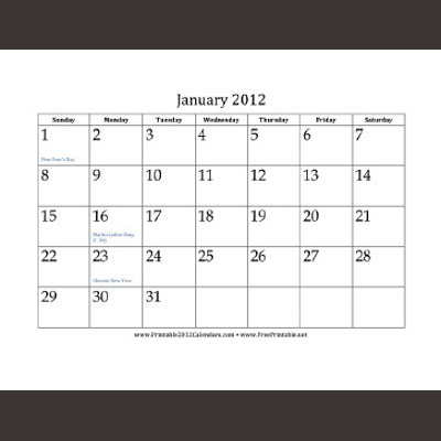 2013 Printfree | Search Results | New Calendar Template Site