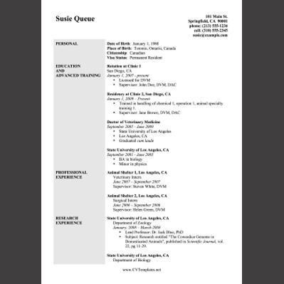 printable resume templates .