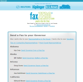Free Faxing Service