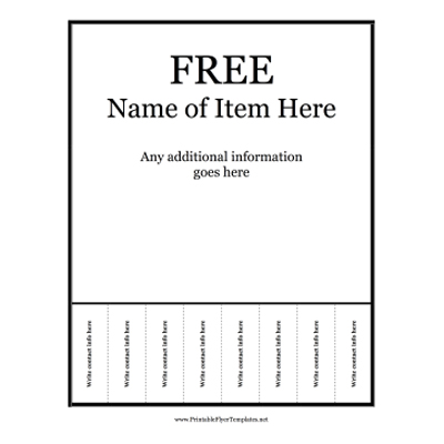 New Free Printable Flyer To Free Printable Flyer Templates