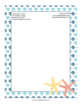 image relating to Printable Sationary named Totally free Printable Stationery