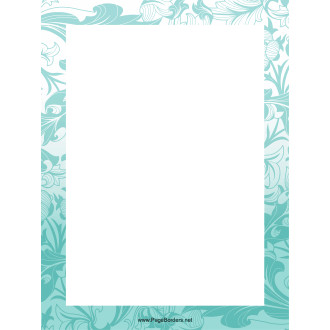 Ornate Printable Borders