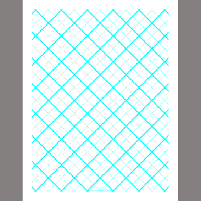 Free Printable Paper Site Adds Specialty Graph Papers – Octagon Graph Paper
