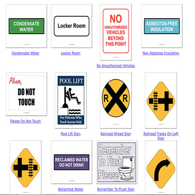 image about Printable Locker Signs called Fresh new Cost-free Printable Indicators