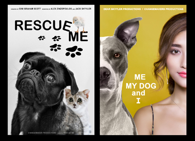 Rescue Me and Me, My Dog, and I Film Posters