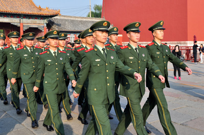 Military Parade in China
