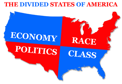 The Many Divisions in America