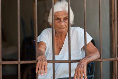 Elderly Woman Prisoner