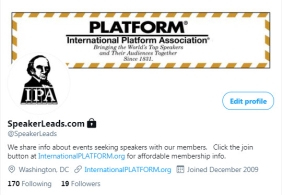 Helping Speakers find Events – www.SpeakerLeads.com Launches for 2021  -- New Service Provides Leads of Events Seeking