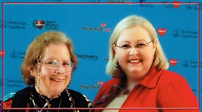 Judy Currier and Mellanie True Hills at the Discovery Channel's Red Carpet Premiere of A Heartbeat Away From Stroke