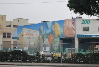 LA Produce Market Mural 1 of 2
