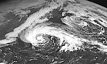 Converging Storms - Frankenstorm - Hurricane Sandy