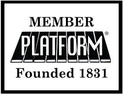 Black % White Member Logo