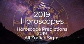 2019 horoscope predictions: see where your life will expand, what must change, and your best bets for having a great year.