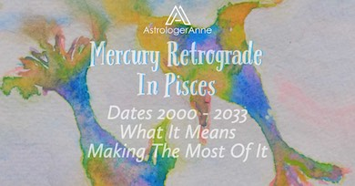 Mercury in Pisces is a challenge. But Mercury retrograde in Pisces makes things even harder. Find out why and how to cope.