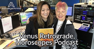 Venus retrograde affects everyone-because it affects love, relationships, money. Get details, latest horoscopes in this podcast.