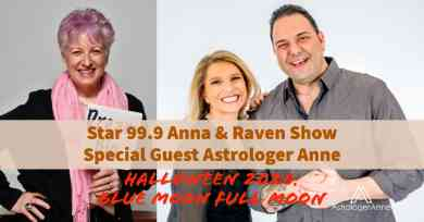 """Astrologer Anne podcast from Anna & Raven Show tells why Halloween """"blue Moon"""" full Moon will bring """"wild card"""" energy, events"""