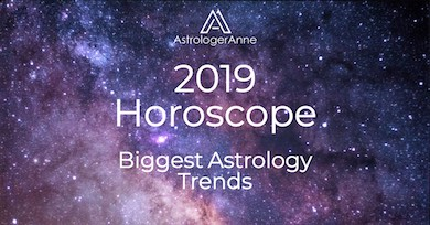 The 2019 horoscope show a new spirit of joy all year. Find out more and get the big astrology trends you must know for 2019.