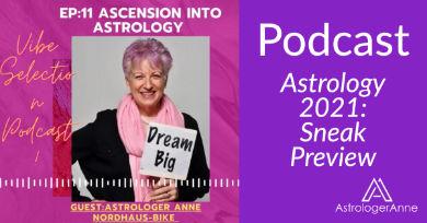 Get a sneak peek at 2021 in Astrologer Anne