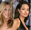 Jennifer Aniston vs Angelina Jolie