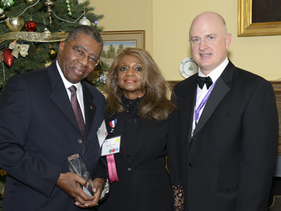 From left to right: Tony Rogers, Eugenia Foxworth & Lance Fulford