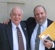 John Snyder and Dan Polsby following Possenti Medallion presentation