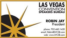 Robin Jay, President of the Las Vegas Convention Speakers Bureau is Seeking Authors & Speakers