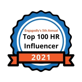Perfect Labor Storm Author Selected to Top 100 HR Influencers of 2021