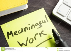 How Meaning Remedies Meaningless Work