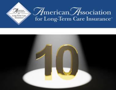 Long term care insurance association marks 10 years consumer outreach