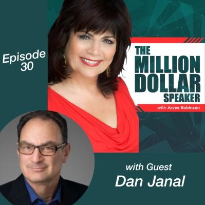 Business Book Coach Dan Janal Speaks on  'The Million Dollar Speaker' Podcast