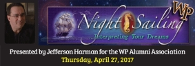 Dream Interpreter Jefferson Harman to Speak at William Paterson University