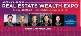 2019 Real Estate Wealth Expo in NY/NJ Metropolitan Area Invites Exhibitors