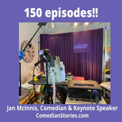 Comedian Stories is 150 episodes old!