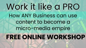 Work it like PRO: How ANY business can use content to create a micro-media empire