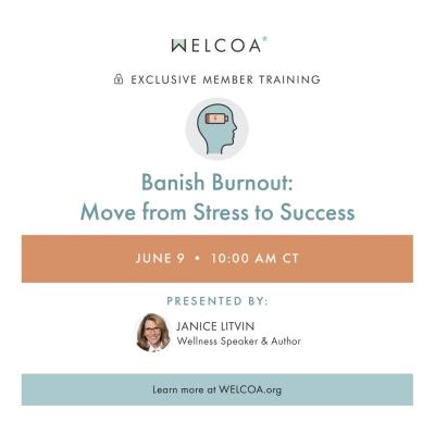 Janice Litvin to speak at Welcoa Institute for Wellness Studies