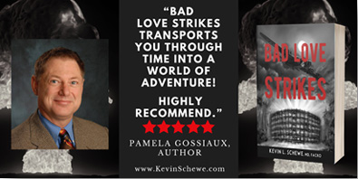 The Bestselling 'Bad Love Strikes,' Now Available in an Audiobook: Feel-Good Sci-Fi Combines Factual History with Fun Adventure!