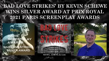 Prix Royal Paris Screenplay Award  is the fourth for 'Bad News Strikes'
