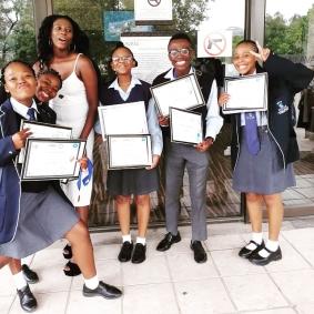 Basotho Youth SDGs Award Winners