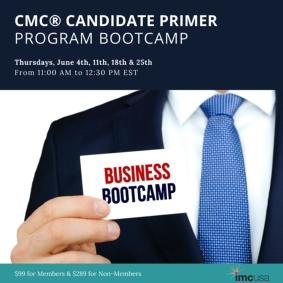 IMC NCR CMC Bootcamp