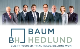 Baum Hedlund Wins Law360 Product Liability Practice Group of the Year