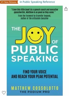 The Joy of Public Speaking with Amazon