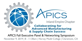 APICS Inland Empire Fall Symposium on November 9 at Harvey Mudd Discusses Advanced Manufacturing
