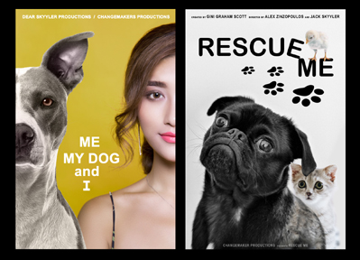 Me, My Dog and I, and Rescue Me Film Posters