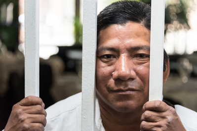 Illegal Immigrant Behind Bars